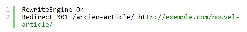 redirection wordpress via htaccess