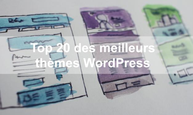 Notre avis : Top 20 des meilleurs thèmes WordPress de 2020